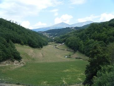 Valle del Picente veduta da  Rocca Passa